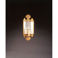 Signature 1 Light 6 inch Antique Brass Wall Sconce Wall Light in Plain Mirror