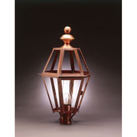Northeast Lantern Boston 1 Light Post in Antique Copper 1323-AC-CIM-CLR