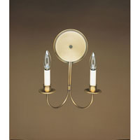 Northeast Lantern Signature 2 Light Wall Sconce in Antique Brass 144-AB-LT2