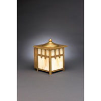 Northeast Lantern Lodge 1 Light Outdoor Wall Lantern in Antique Brass 1511-AB-MED-CRML