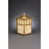 Northeast Lantern Lodge 1 Light Outdoor Wall Lantern in Antique Brass 1521-AB-MED-CRML
