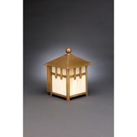 Northeast Lantern Lodge 1 Light Outdoor Wall Lantern in Antique Brass 1711-AB-MED-CRML