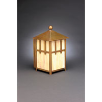 Northeast Lantern Lodge 1 Light Outdoor Wall Lantern in Antique Brass 1721-AB-MED-CRML
