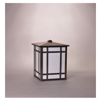 Northeast Lantern Sierra 1 Light Wall Lantern in Dark Brass 1751-DB-MED-CRML