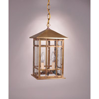 Northeast Lantern Sierra 2 Light Pendant in Antique Brass 1752-AB-LT2-CSG