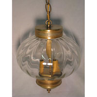Northeast Lantern 2042G-DB-LT2-CSG Onion 2 Light 10 inch Dark Brass Hanging Lantern Ceiling Light in Clear Seedy Glass