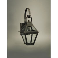 Northeast Lantern Uxbridge 1 Light Outdoor Wall Lantern in Dark Brass 2217-DB-MED-CLR