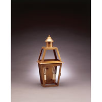 Northeast Lantern Uxbridge 2 Light Outdoor Wall Lantern in Antique Brass 2231-AB-LT2-CLR