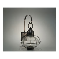 Northeast Lantern Onion 1 Light Outdoor Wall Lantern in Dark Brass 2541G-DB-MED-CSG