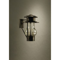 Northeast Lantern Railroad 2 Light Outdoor Wall Lantern in Dark Brass 2631-DB-LT2-OPT