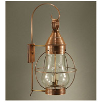 Northeast Lantern Bosc 2 Light Outdoor Wall Lantern in Antique Copper 2741-AC-LT2-CLR