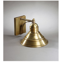 Northeast Lantern Barn 1 Light Outdoor Wall Lantern in Antique Brass 3411-AB-MED