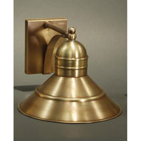 Northeast Lantern Barn 1 Light Outdoor Wall Lantern in Antique Brass 3421-AB-MED