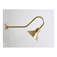 Barn 1 Light 10 inch Antique Brass Wall Sconce Wall Light
