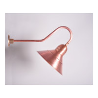 Northeast Lantern Barn 1 Light Wall Sconce in Antique Copper 3449-AC-MED