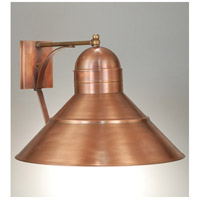 Barn 1 Light 13 inch Antique Copper Outdoor Wall Lantern