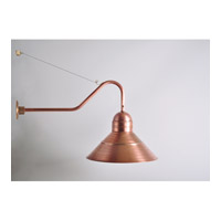 Northeast Lantern Barn 1 Light Wall Sconce in Antique Copper 3456-AC-MED
