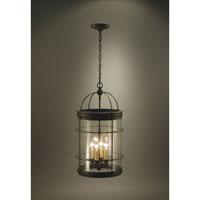 Northeast Lantern 3562-DB-LT4-CSG Signature 4 Light 13 inch Dark Brass Chandelier Ceiling Light in Clear Seedy Glass