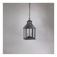 Northeast Lantern Cambridge 2 Light Hanging Lantern in Dark Brass 3712-DB-LT2-CSG
