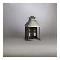 Cambridge 2 Light 9 inch Dark Antique Brass Wall Lantern Wall Light in Clear Glass, Candelabra