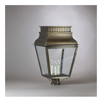 Northeast Lantern Andrews 3 Light Post Lantern in Dark Antique Brass 3843-DAB-LT3-CSG