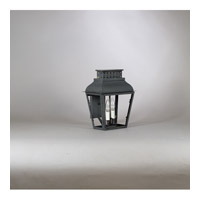 Northeast Lantern Andrews 2 Light Wall Lantern in Dark Brass 3911-DB-LT2-CLR
