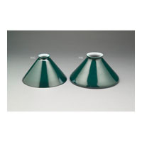 Northeast Lantern Accessory Glass Shade 3.25in Fitter in Green 70G
