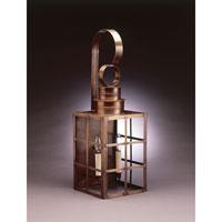 Northeast Lantern 5151-DAB-LT2-CLR Suffolk 2 Light 24 inch Dark Antique Brass Outdoor Wall Lantern in Clear Glass, No Chimney, Candelabra