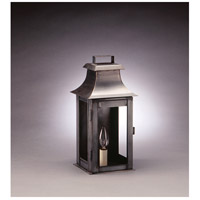 Northeast Lantern Concord 1 Light Outdoor Wall Lantern in Dark Brass 5611-DB-LT1-CLR