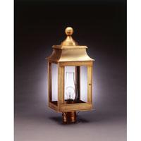 Northeast Lantern Concord 1 Light Post in Antique Brass 5633-AB-CIM-CLR photo thumbnail