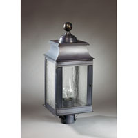 Northeast Lantern Concord 1 Light Post in Dark Brass 5633-DB-CIM-SMG