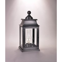 Northeast Lantern Concord 1 Light Pier Mount in Dark Brass 5633P-DB-CIM-CLR