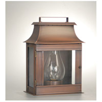 Northeast Lantern Concord 1 Light Outdoor Wall Lantern in Dark Antique Copper 5711-DAC-CIM-CLR