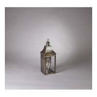 Northeast Lantern Bristol 1 light Wall Light in Antique Brass 5911-DAB-CIM-CLR