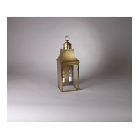 Northeast Lantern Bristol 2 light Wall Light in Antique Brass 5921-AB-LT2-CSG