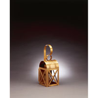 Northeast Lantern 6011-AB-MED-CLR Adams 1 Light 14 inch Antique Brass Outdoor Wall Lantern in Clear Glass