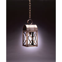 Adams 1 Light 6 inch Dark Brass Hanging Lantern Ceiling Light in Clear Glass