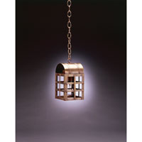 Northeast Lantern Adams 1 Light Hanging Lantern in Dark Antique Brass 6112-DAB-MED-CLR