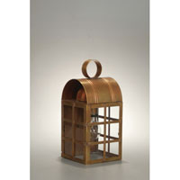 Northeast Lantern Adams 1 Light Outdoor Wall Lantern in Antique Brass 6131-AB-MED-CLR-NS