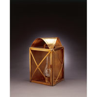 Northeast Lantern Adams 1 Light Outdoor Wall Lantern in Antique Brass 6631-AB-CIM-CLR