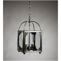 Northeast Lantern Signature 2 Light Chandelier in Dark Brass 6812R-DB-LT2-CLR