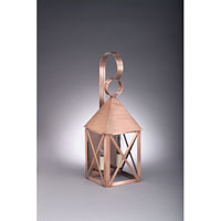 Northeast Lantern York 2 Light Outdoor Wall Lantern in Antique Copper 7031-AC-LT2-CLR