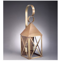 Northeast Lantern York 2 Light Outdoor Wall Lantern in Antique Brass 7041-AB-LT2-CLR