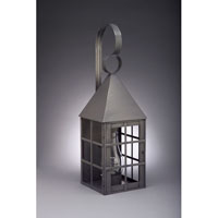 Northeast Lantern York 1 Light Outdoor Wall Lantern in Dark Brass 7151-DB-CIM-CLR