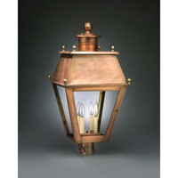 Northeast Lantern Stanfield 4 Light Post in Antique Copper 7553-AC-LT4-CLR