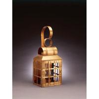 Northeast Lantern 8131-AB-CIM-CLR Lynn 1 Light 21 inch Antique Brass Outdoor Wall Lantern in Clear Glass, Chimney, Medium