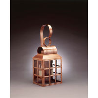 Lynn 2 Light 21 inch Antique Copper Outdoor Wall Lantern in Clear Glass, No Chimney, Candelabra