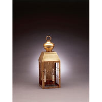 Northeast Lantern 8331-AB-LT2-CLR Woodcliffe 2 Light 17 inch Antique Brass Outdoor Wall Lantern in Clear Glass