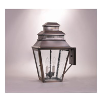 Northeast Lantern Elryan 2 Light Wall Lantern in Dark Antique Brass 8641-DAB-LT2-CSG