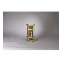 Essex 2 Light 8 inch Raw Brass Wall Light in Clear Seedy Glass